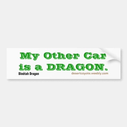 Dinétah Dragon Other Car Bumper Sticker