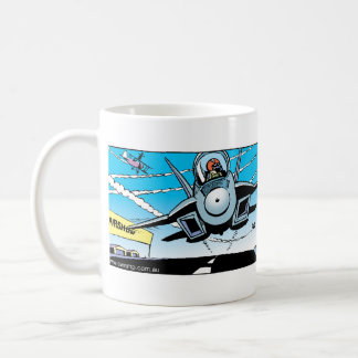 Ding Duck at the Air Show Coffee Mug