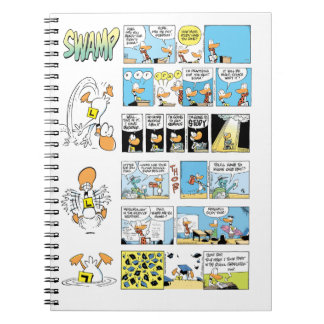 Ding Duck Flying School Exams Notebooks
