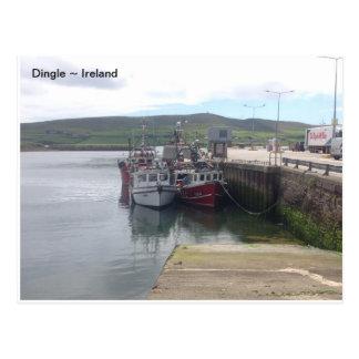 Dingle Harbour, Co. Kerry, Ireland. Postcard