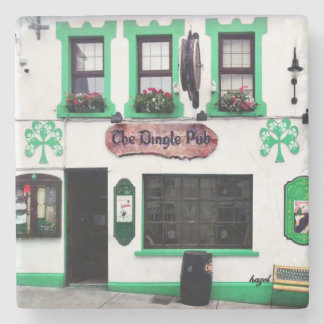 Dingle Pub, Dingle, Pubs, Irish, Coasters. Ireland Stone Coaster