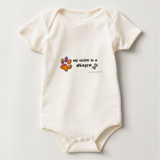dingo baby bodysuit