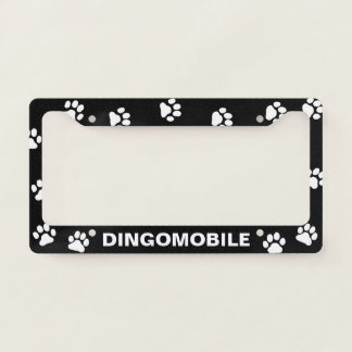 Dingomobile - Custom License Plate Frame