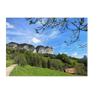 Dingy St Clair - French Alps Acrylic Print