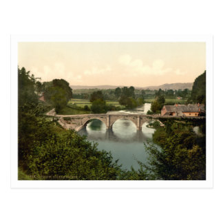 Dinham Bridge I, Ludlow, Shropshire, England Postcard