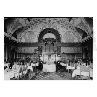 Dining Hall, Ponce de Leon Hotel, St. Augustine Stationery Note Card