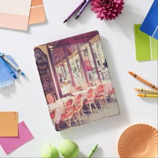 Dining In Paris Al Fresco iPad Cover