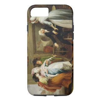 'Dining in the Hayfields' (surprised by Mr Thornhi iPhone 7 Case