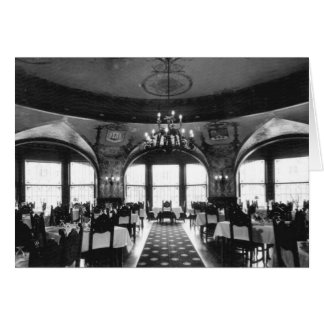 Dining Room, Ponce de Leon Hotel, St. Augustine Note Card
