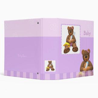 Dinky Bears Baby Photo Album 3 Ring Binders