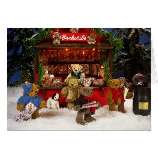 Dinky Bears Christmas Fair Card