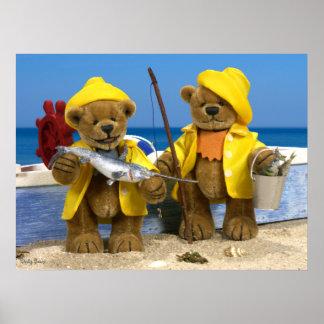 Dinky Bears: Fishermen Poster