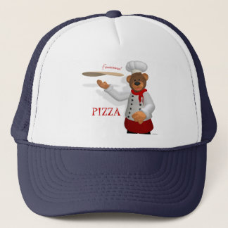 Dinky Bears Pizza Baker Trucker Hat