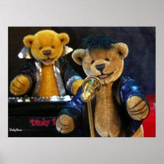 Dinky Bears Singer Poster