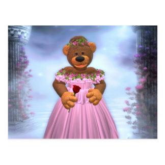 Dinky Bears: Sleeping Beauty Postcard