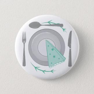 Dinner Plate 2 Inch Round Button
