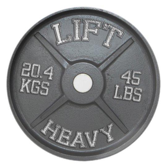 Dinner Plate - 45 lbs Plate - Lift Heavy