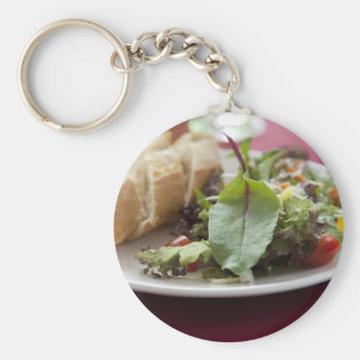 Dinner Salad Keychain