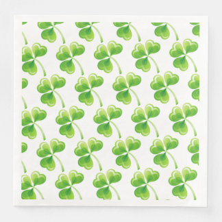 Dinner Size Paper Napkins-Saint Patrick's Paper Dinner Napkin
