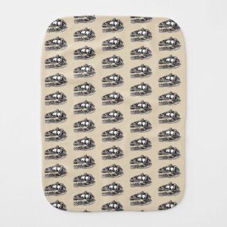 DINO - Beige Burp Cloth