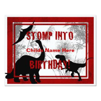 Dino Birthday Invitation