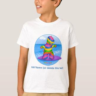 DINO-BUDDIES™ - Bo™ Surfing T-Shirt (White)