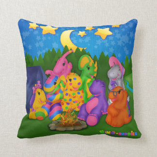 DINO-BUDDIES™ Happy Campers Pillow