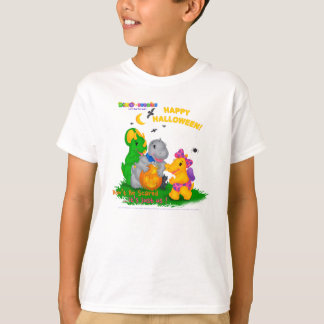 Dino-Buddies™ Happy Halloween White T-Shirt