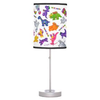 Dino-Buddies™ Lamp – Lots of Dinos!