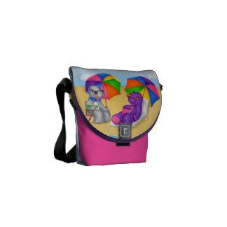 Dino-Buddies™ Mini Messenger Bag – Beach Time