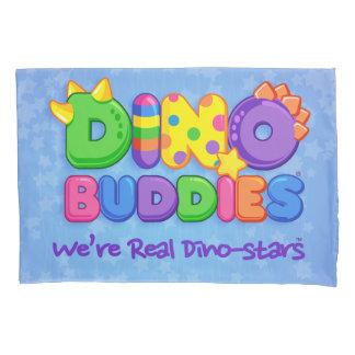 Dino-Buddies™ Pillow Case–Dino-Buddies Logo (Blue) Pillowcase