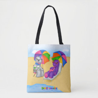 Dino-Buddies® Tote Bag - Fun In The Sun!