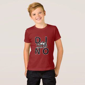DINO - Cranberry Kids' American Apparel Fine Jerse T-Shirt