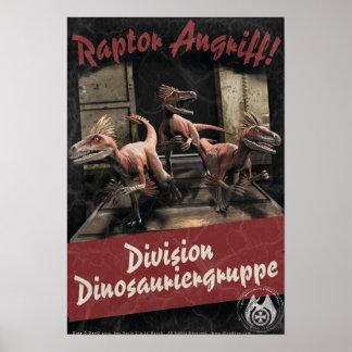 Dino D-Day: Raptor Assault Poster