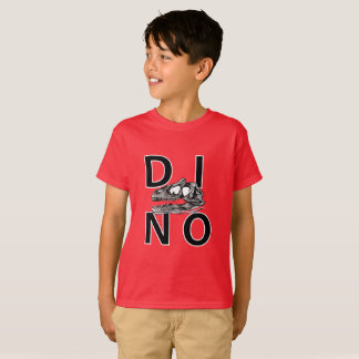 DINO - Deep Red Kids' Hanes TAGLESS® T-Shirt