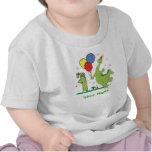 Dino First Birthday Personalized Tshirts