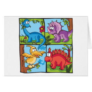 Dino Friends Card