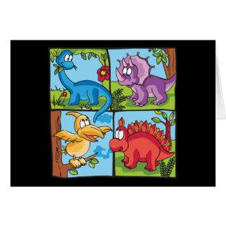 Dino Friends Note Card