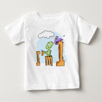 Dino Fun 1st Birthday Baby T-Shirt