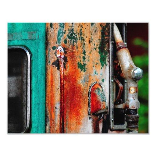 Dino Gas Pump Photograph
