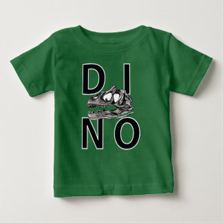 DINO - Green Baby Fine Jersey T-Shirt