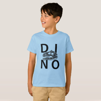 DINO - Light blue Kids' Hanes TAGLESS® T-Shirt