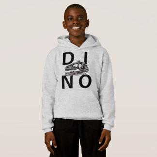DINO - Light Grey Kids' Hanes ComfortBlend® Hoodie
