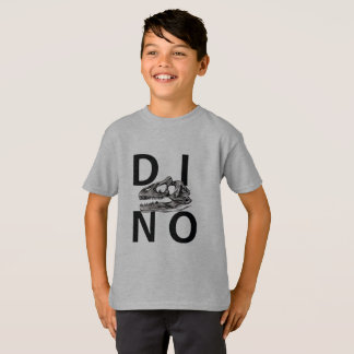 DINO - Light Steel Kids' Hanes TAGLESS® T-Shirt