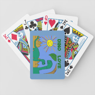 DINO LOVE - I LOVE DINOSAURS Playing Cards