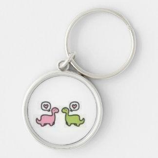 Dino Love Keychain