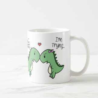 Dino Love Mug! Coffee Mug