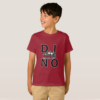 DINO - Maroon Kids' Hanes TAGLESS® T-Shirt