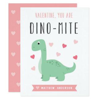 Dino-Mite Valentine's Day Card