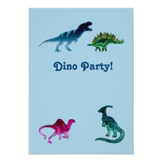 Dino Party Invitation